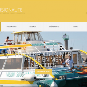 Site Web de la Compagnie Visionaute