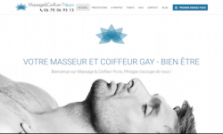 Site Web de Masseur Coiffeur Paris